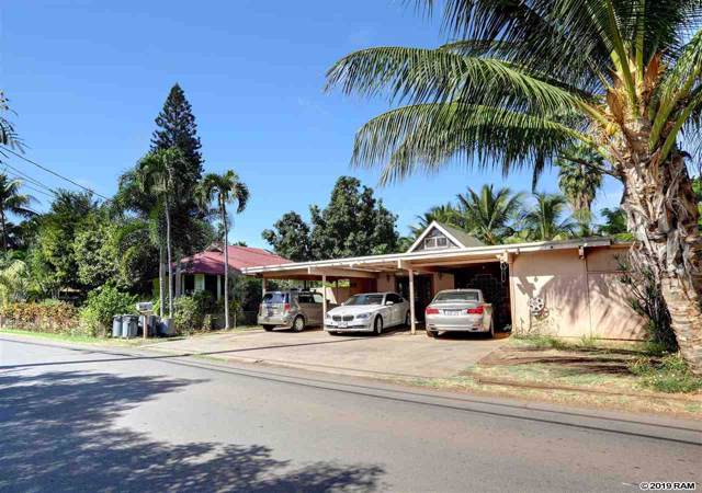 225 Prison St, Lahaina, HI 96761 (MLS #385518) :: Elite Pacific Properties LLC