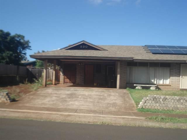 330 Nalani St, Pukalani, HI 96768 (MLS #385551) :: Elite Pacific Properties LLC