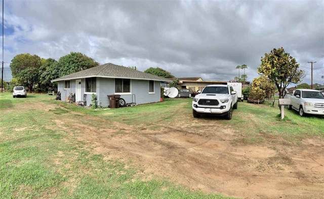 428 Kahiki St, Kahului, HI 96732 (MLS #385734) :: Maui Estates Group