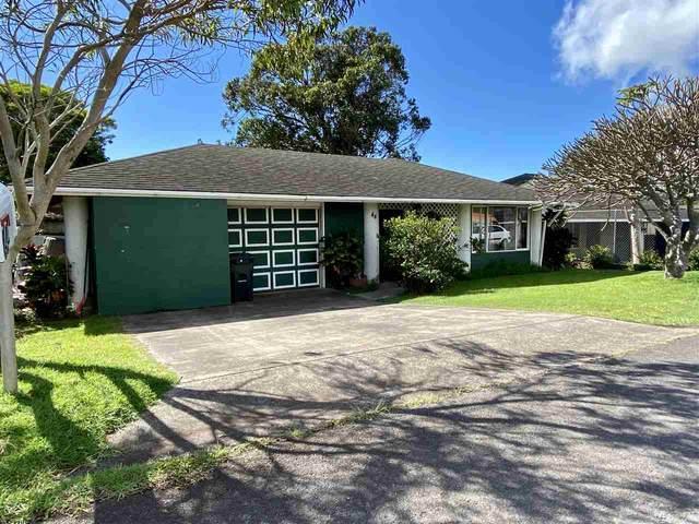 44 Puaina Pl, Makawao, HI 96768 (MLS #386125) :: Maui Lifestyle Real Estate