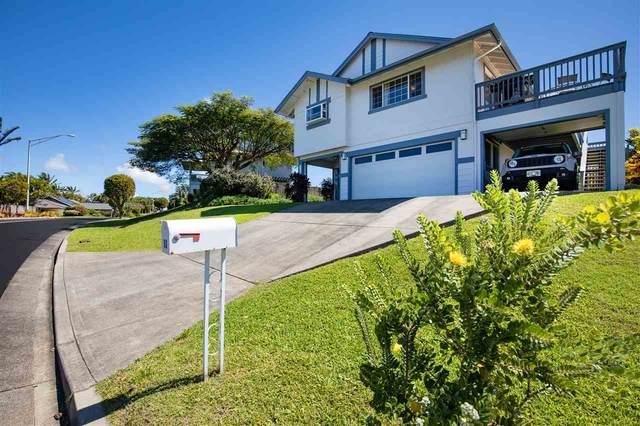 60 Piimauna St, Pukalani, HI 96788 (MLS #386234) :: Coldwell Banker Island Properties