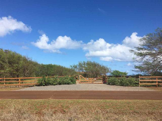 3956 Pohakuloa Rd, Maunaloa, HI 96770 (MLS #386349) :: Keller Williams Realty Maui