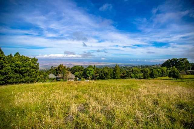 1-6940 Haleakala Hwy, Kula, HI 96790 (MLS #386407) :: Coldwell Banker Island Properties