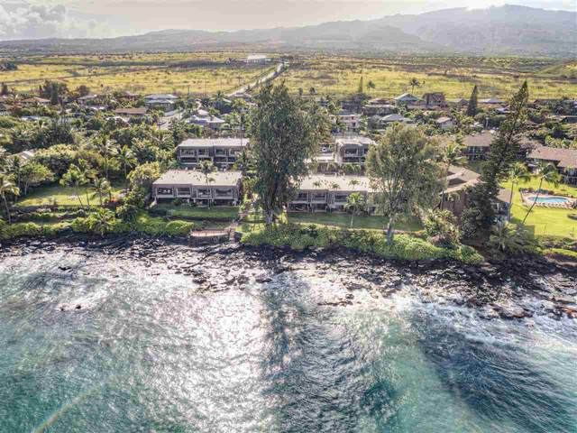 4007 Lower Honoapiilani Rd #105, Lahaina, HI 96761 (MLS #386527) :: Maui Estates Group