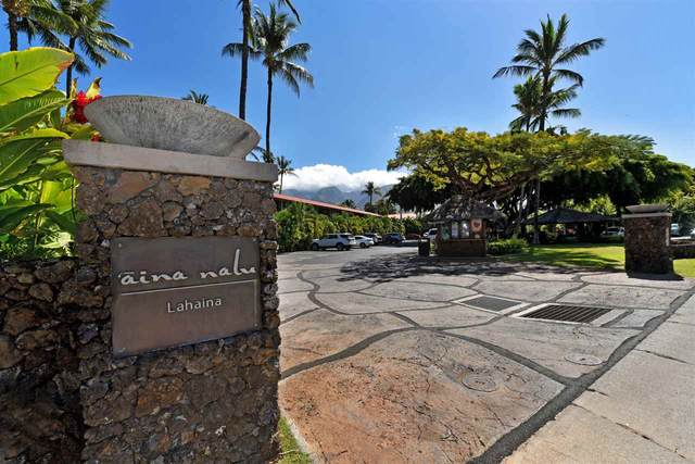 660 Wainee St A104, Lahaina, HI 96761 (MLS #386565) :: Elite Pacific Properties LLC