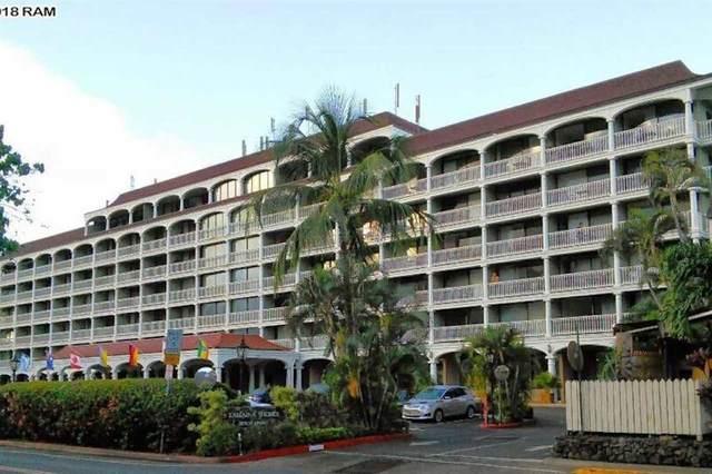 475 Front St #312, Lahaina, HI 96761 (MLS #386585) :: Maui Lifestyle Real Estate