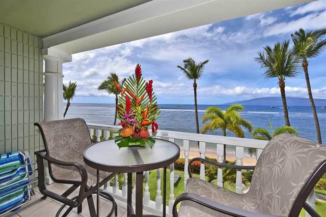 475 Front St #313, Lahaina, HI 96761 (MLS #386593) :: Maui Lifestyle Real Estate
