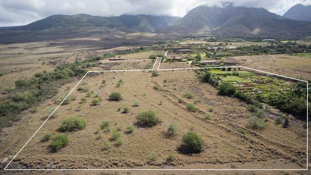 Lot 13 A Mele Komo Pl 13A, Lahaina, HI 96761 (MLS #386597) :: Coldwell Banker Island Properties