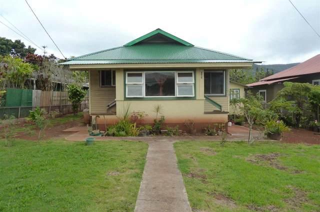1212 Jasmine St, Lanai City, HI 96763 (MLS #386616) :: Coldwell Banker Island Properties