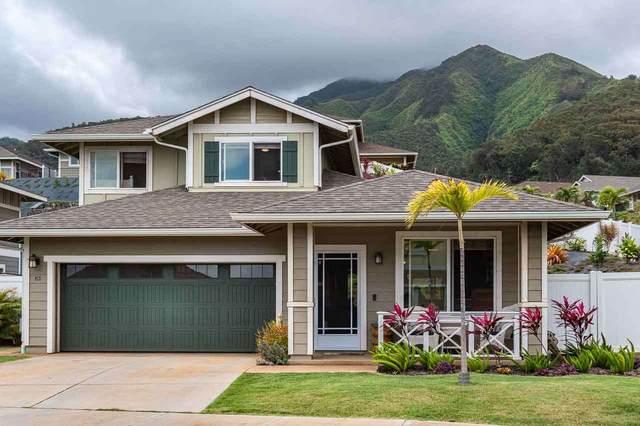 24 Ka Ikena Loop, Wailuku, HI 96793 (MLS #386620) :: Elite Pacific Properties LLC