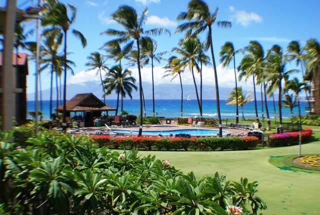 3543 Lower Honoapiilani Rd J201, Lahaina, HI 96761 (MLS #386664) :: Maui Estates Group