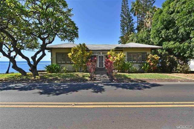 271 Front St, Lahaina, HI 96761 (MLS #386782) :: Coldwell Banker Island Properties
