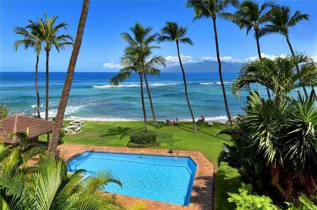 3875 Lower Honoapiilani Rd B303, Lahaina, HI 96761 (MLS #386864) :: Maui Estates Group