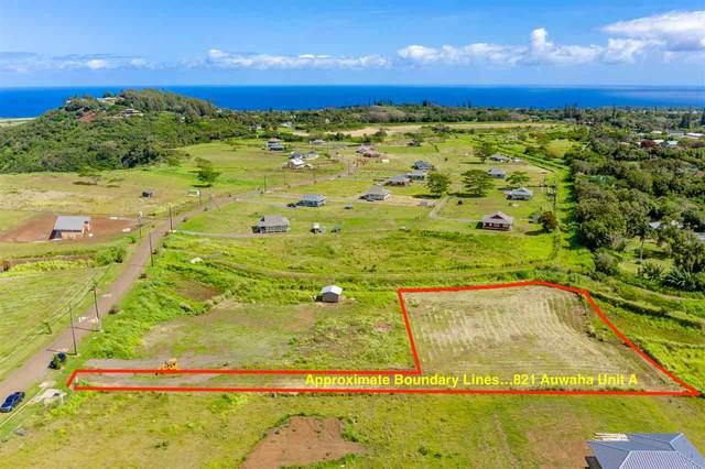 821 Auwaha St A, Haiku, HI 96708 (MLS #386874) :: Coldwell Banker Island Properties
