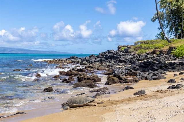 3959 Lower Honoapiilani Rd #310, Lahaina, HI 96761 (MLS #386880) :: Maui Estates Group