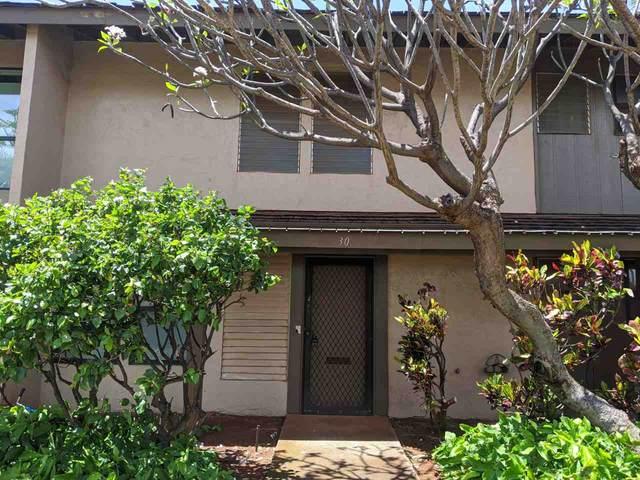 150 Puukolii Rd #30, Lahaina, HI 96761 (MLS #386931) :: Elite Pacific Properties LLC