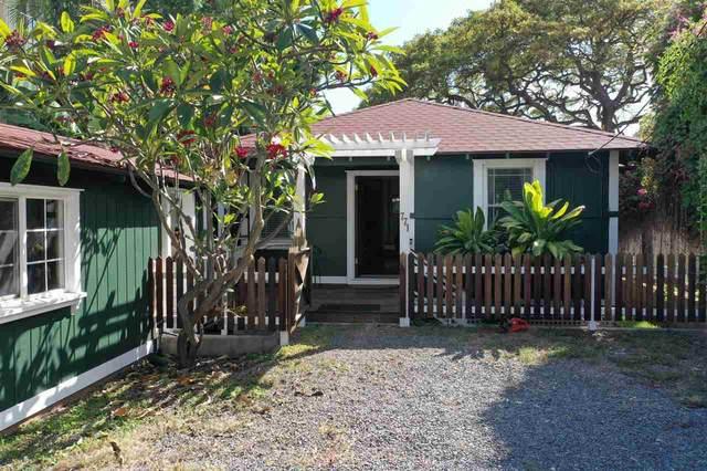 771 Luakini St, Lahaina, HI 96761 (MLS #386975) :: Elite Pacific Properties LLC