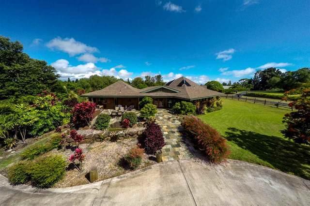 444 Aulii Dr, Pukalani, HI 96768 (MLS #386994) :: Coldwell Banker Island Properties