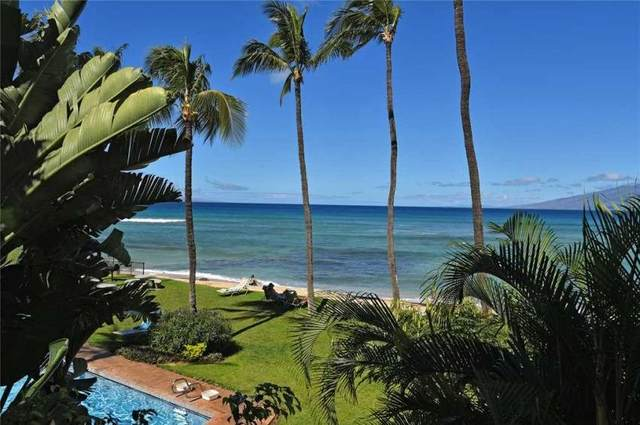 3875 Lower Honoapiilani Rd A207, Lahaina, HI 96761 (MLS #387007) :: Maui Estates Group