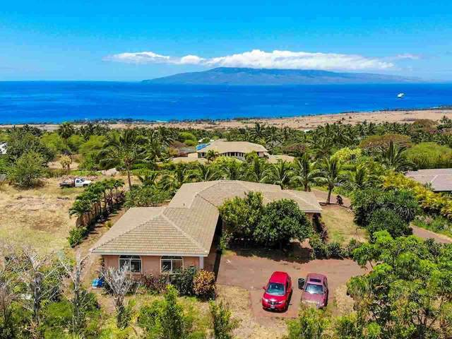 830 Kai Hele Ku St A, Lahaina, HI 96761 (MLS #387028) :: Maui Estates Group