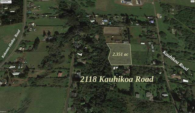 2118 Kauhikoa Rd, Haiku, HI 96708 (MLS #387067) :: Maui Estates Group