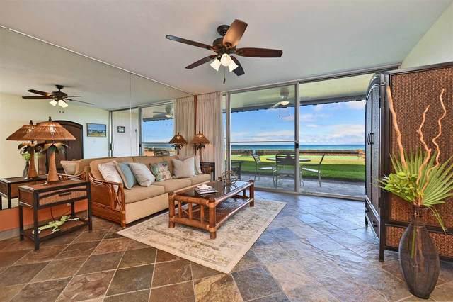 3741 Lower Honoapiilani Rd #106, Lahaina, HI 96761 (MLS #387122) :: Elite Pacific Properties LLC