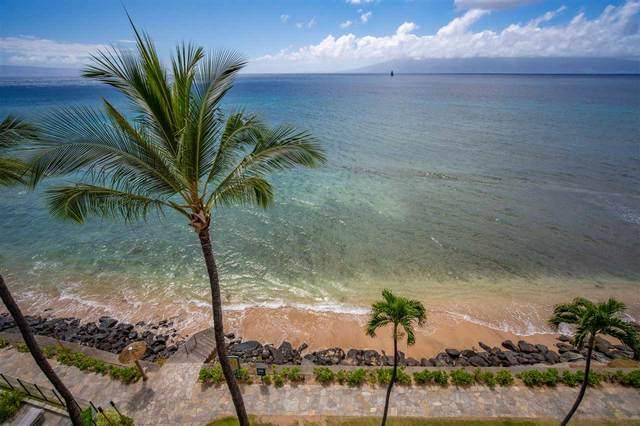 3445 Lower Honoapiilani Rd #601, Lahaina, HI 96761 (MLS #387134) :: Keller Williams Realty Maui