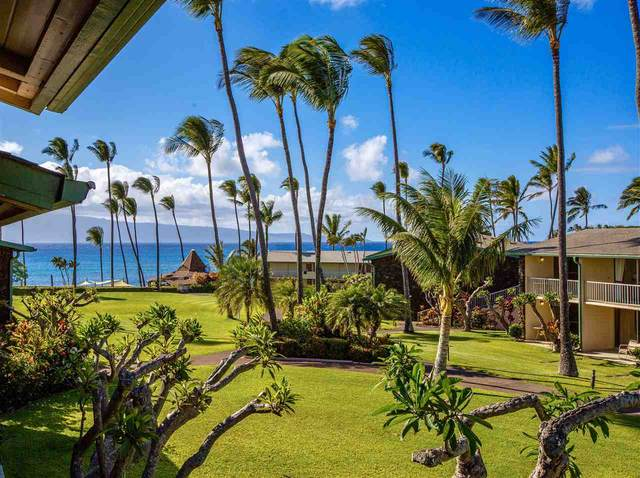 5315 Lower Honoapiilani Rd F248, Lahaina, HI 96761 (MLS #387206) :: Maui Estates Group
