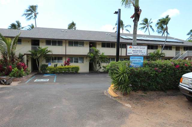 46 Hui Dr #105, Lahaina, HI 96761 (MLS #387214) :: Maui Estates Group