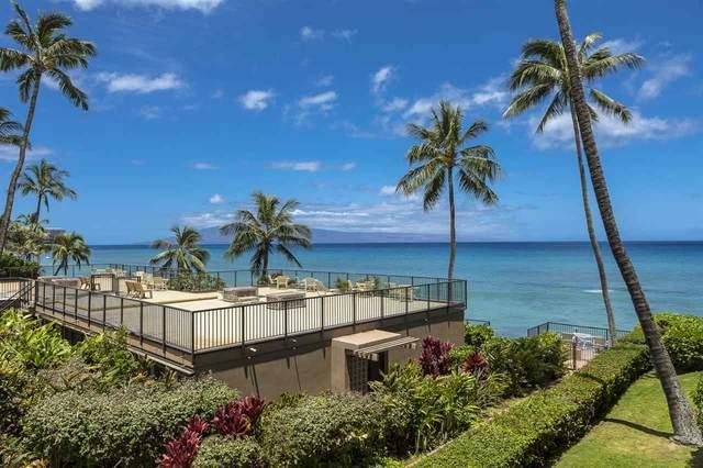 3823 Lower Honoapiilani Rd #206, Lahaina, HI 96761 (MLS #387442) :: Maui Estates Group