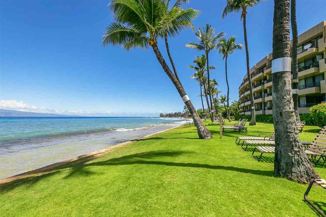 3601 Lower Honoapiilani Rd #120, Lahaina, HI 96761 (MLS #387796) :: Maui Lifestyle Real Estate