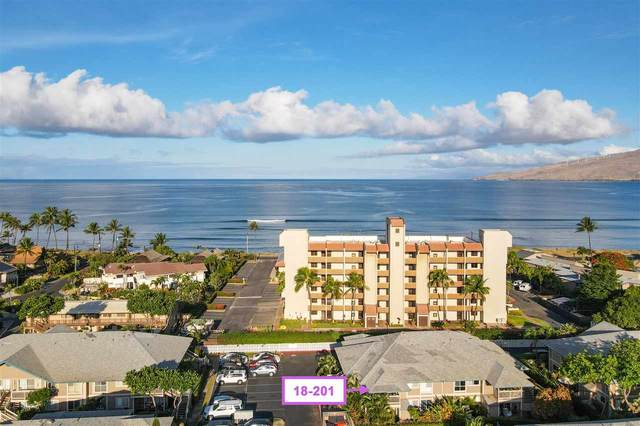 480 Kenolio Rd 18-201, Kihei, HI 96753 (MLS #387898) :: Elite Pacific Properties LLC
