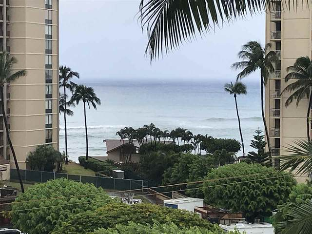 4310 Lower Honoapiilani Rd #504, Lahaina, HI 96761 (MLS #387929) :: Maui Estates Group