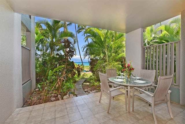 3875 Lower Honoapiilani Rd B103, Lahaina, HI 96761 (MLS #388067) :: Keller Williams Realty Maui