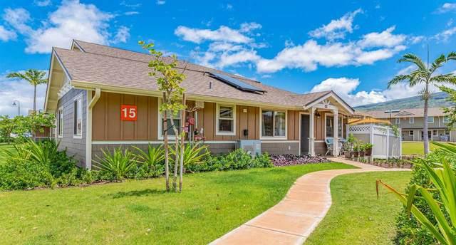 281 Kahoma Village Loop 15-106, Lahaina, HI 96761 (MLS #388236) :: Team Lally