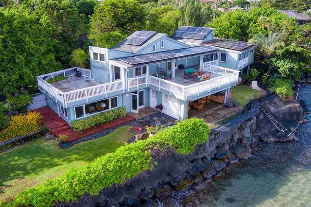 4605 Lower Honoapiilani Rd, Lahaina, HI 96761 (MLS #388490) :: LUVA Real Estate
