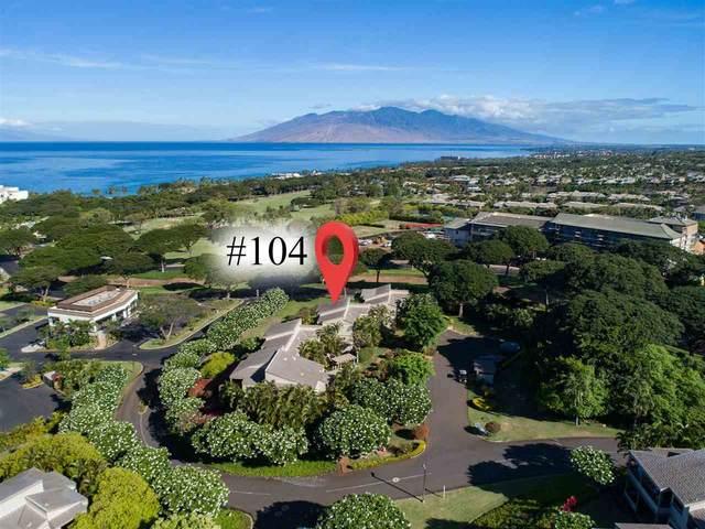 10 Wailea Ekolu Pl #104, Kihei, HI 96753 (MLS #388530) :: Corcoran Pacific Properties