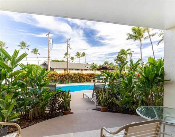 046 Hui Dr #104, Lahaina, HI 96761 (MLS #388542) :: Keller Williams Realty Maui