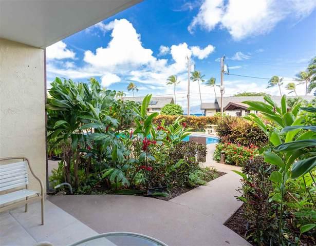 046 Hui Dr #106, Lahaina, HI 96761 (MLS #388544) :: Keller Williams Realty Maui