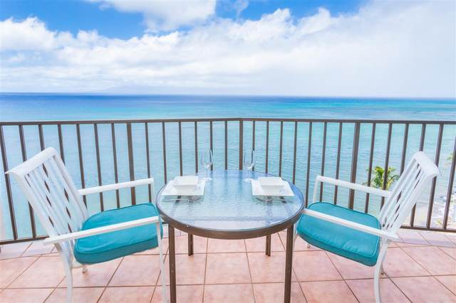 4327 Lower Honoapiilani Rd #1109, Lahaina, HI 96761 (MLS #388730) :: LUVA Real Estate