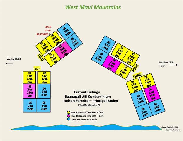 50 Nohea Kai Dr 2-704, Lahaina, HI 96761 (MLS #388754) :: Maui Estates Group
