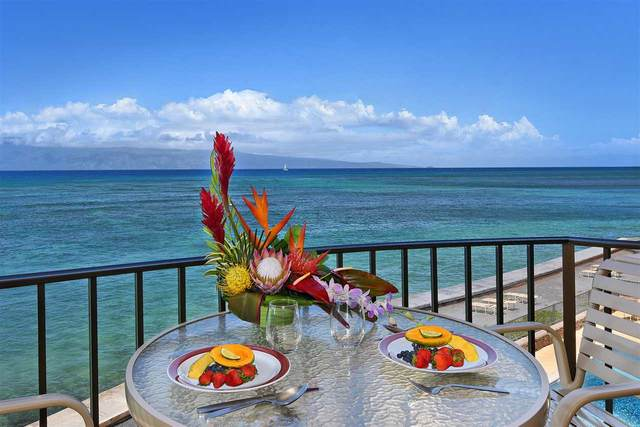 4471 Lower Honoapiilani Rd #302, Lahaina, HI 96761 (MLS #388830) :: Keller Williams Realty Maui