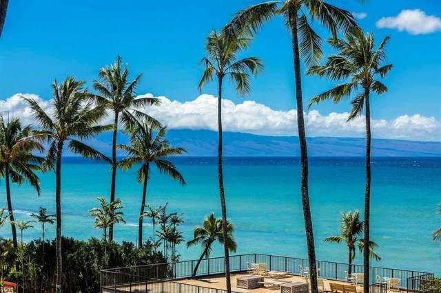 3823 Lower Honoapiilani Rd #401, Lahaina, HI 96761 (MLS #388867) :: Keller Williams Realty Maui