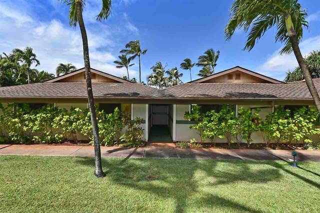 3788 Lower Honoapiilani Rd G103, Lahaina, HI 96761 (MLS #388897) :: Coldwell Banker Island Properties
