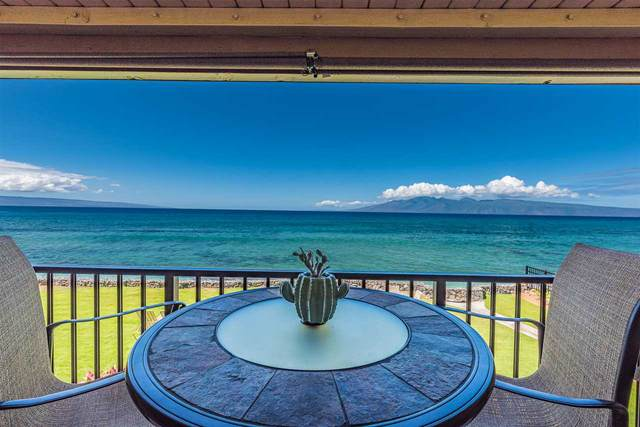 3785 Lower Honoapiilani Rd #214, Lahaina, HI 96761 (MLS #389078) :: Corcoran Pacific Properties
