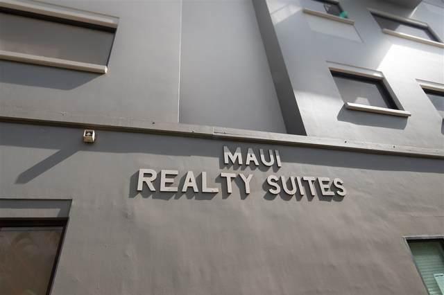 1885 Main #506 St #506, Wailuku, HI 96793 (MLS #389229) :: LUVA Real Estate