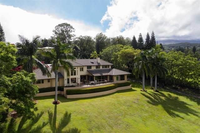 11 Aulii Pl, Pukalani, HI 96768 (MLS #389256) :: Hawai'i Life