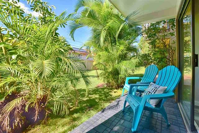 760 Wainee St D124, Lahaina, HI 96761 (MLS #389448) :: LUVA Real Estate