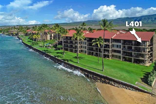 3543 Lower Honoapiilani Rd L401, Lahaina, HI 96761 (MLS #389495) :: Maui Estates Group