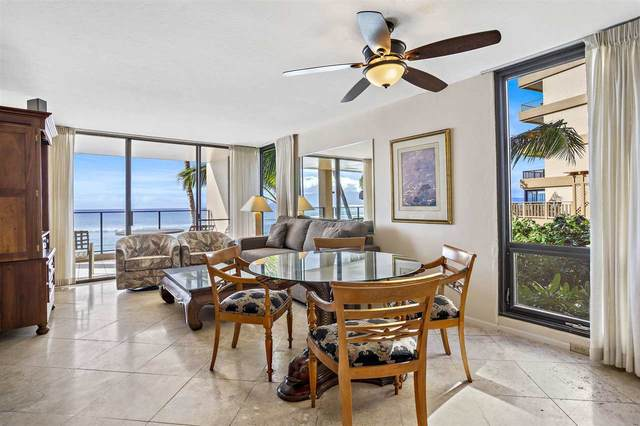 110 Kaanapali Shores Pl #209, Lahaina, HI 96761 (MLS #389505) :: Team Lally